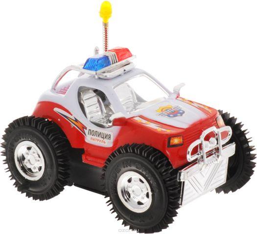 Играем вместе Машина-перевертыш Полицейский патруль цвет красный белый