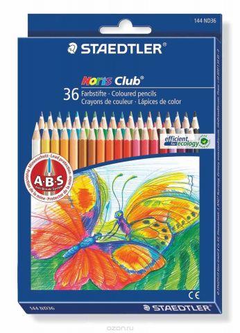 Staedtler Набор цветных карандашей Noris Club 36 шт