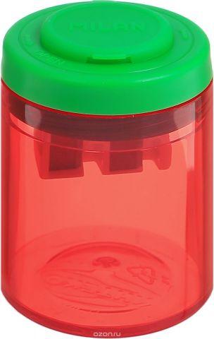 Milan Точилка Collection с контейнером цвет красный зеленый