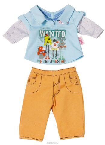 Baby Born Одежда для кукол Стильная Брюки кофта