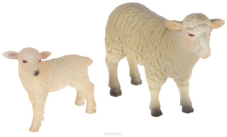 Mojo Набор фигурок Овца и ягненок