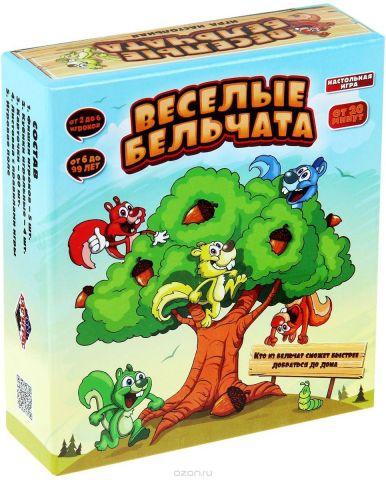 Лас Играс Настольная игра Веселые бельчата