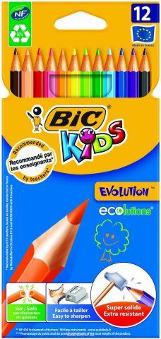 Bic Набор цветных карандашей Evolution 12 цветов