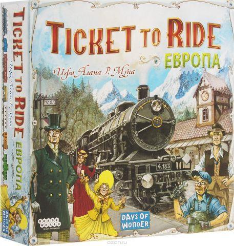 Hobby World Настольная игра Ticket to Ride Европа 3-е издание