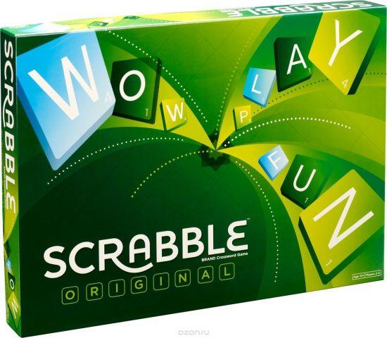 Mattel Настольная игра Scrabble Original