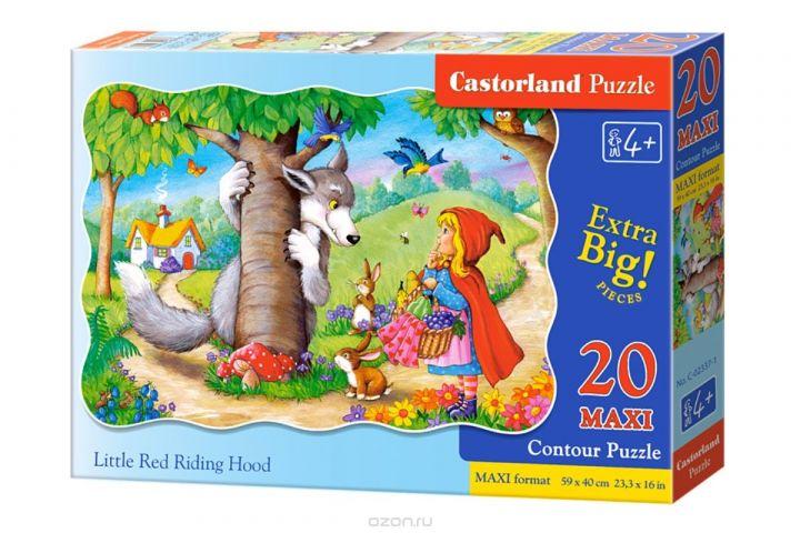 Castorland Пазл для малышей Красная Шапочка
