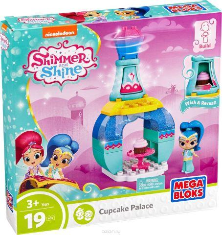Mega Bloks Shimmer & Shine Конструктор Cupcake Palace