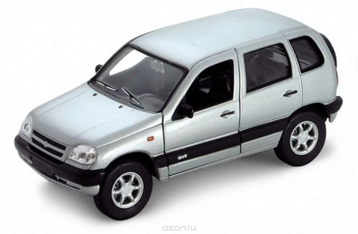 Welly Модель автомобиля Chevrolet Niva