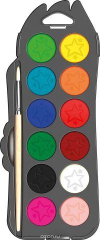 Maped Акварель Colorpep'S с кисточкой 12 цветов