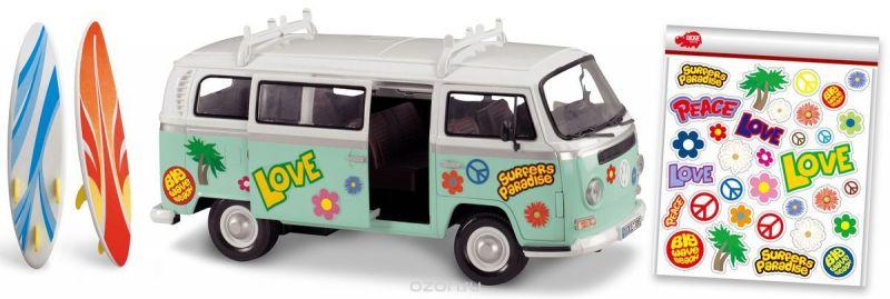 Dickie Toys Машина для серферов с наклейками
