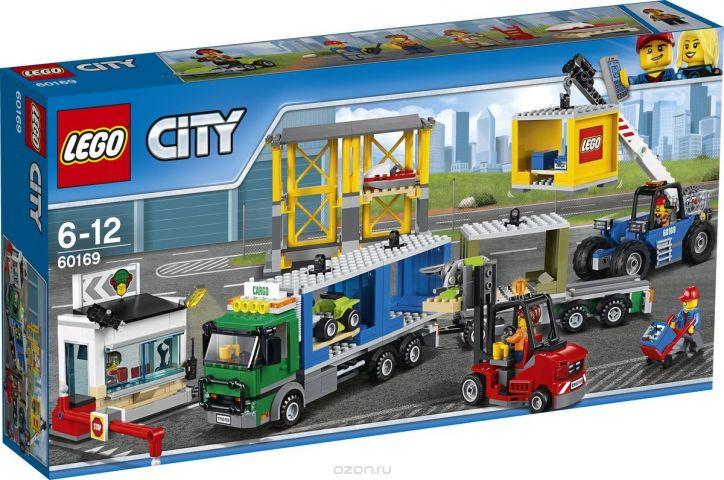 LEGO City Town Конструктор Грузовой терминал 60169