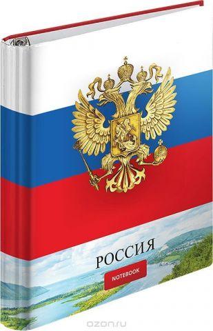 ArtSpace Тетрадь на кольцах Россия 120 листов в клетку