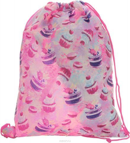 Seventeen Сумка для сменной обуви цвет розовый SKEB-UT3-883W