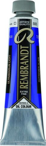 Royal Talens Краска масляная Rembrandt цвет 505 Ультрамарин светлый 40 мл