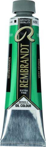 Royal Talens Краска масляная Rembrandt цвет 650 Зеленый севрский 40 мл
