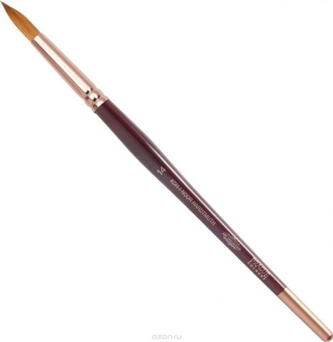 Koh-I-Noor Кисть колонок круглая №14 короткая ручка