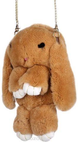 Рюкзак детский Пушистый кролик цвет коричневый