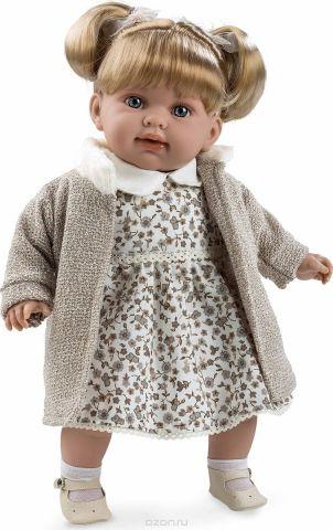 Arias Кукла Девочка Elegance с соской цвет одежды бежевый