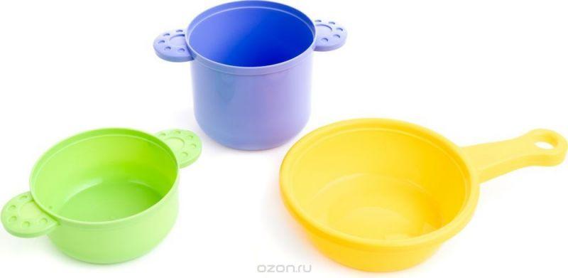 Пластмастер Игровой набор Посуда для повара