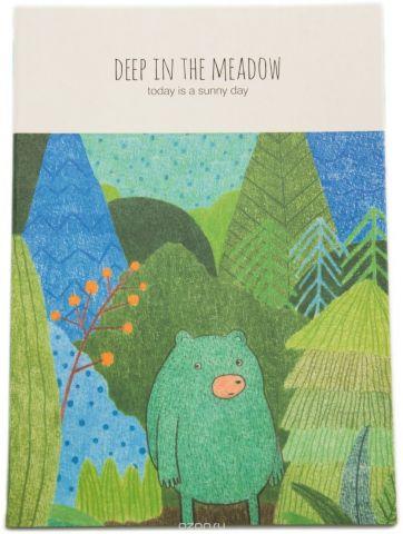 Еж-стайл Тетрадь Deep In The Meadow Миша в линейку 38 листов