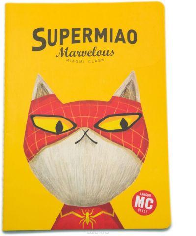 Еж-стайл Тетрадь Supermiao 2 SpiderMan 44 листа в линейку