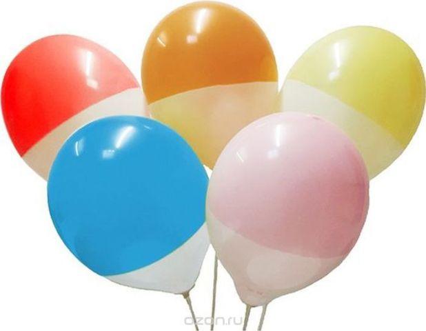 Latex Occidental Набор воздушных шариков Пастель цвет Bicolor 25 шт
