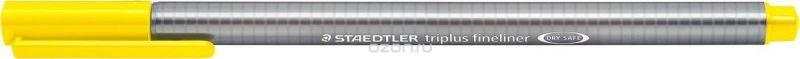 Staedtler Ручка капиллярная Triplus 334 0,3 мм цвет чернил желтый