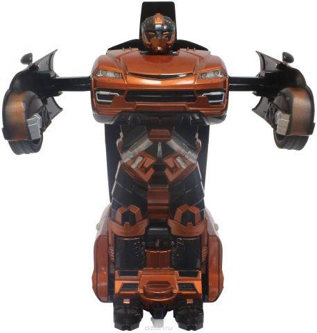 1TOY Робот-трансформер на радиоуправлении Машина цвет оранжевый