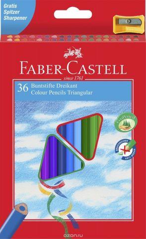 Faber-Castell Набор цветных карандашей Eco с точилкой 36 шт