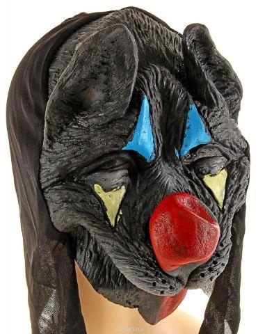 """Маска карнавальная Страна Карнавалия """"Собака. Красный нос"""". 329808"""