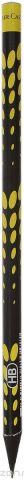 Faber-Castell Карандаш чернографитный Square & Elips цвет желтый