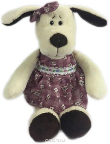 Teddy Мягкая игрушка Собака в платье 16 см