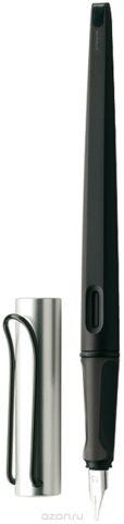 Lamy Ручка перьевая Joy цвет корпуса черный, серебристый толщина 1,5 мм