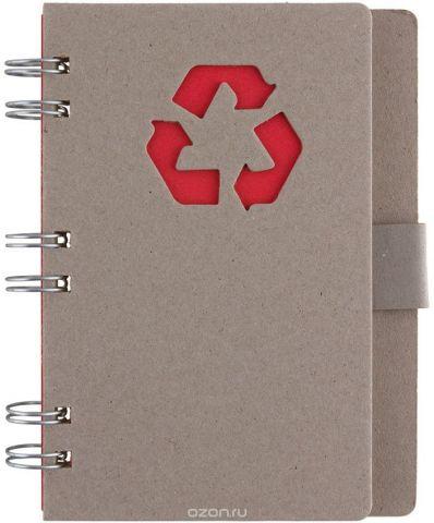 Fiteko Тетрадь 70 листов цвет серый красный RPT-09