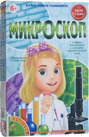 Bondibon Японские научно-познавательные опыты Микроскоп