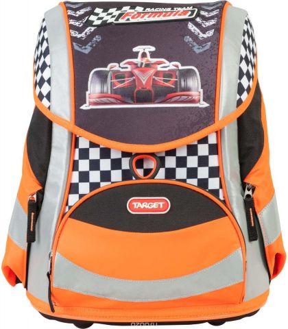Target Ранец школьный Racing Team цвет черный