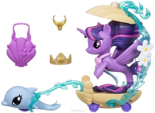 My Little Pony Игровой набор Twilight Sparkle Undersea Carriage