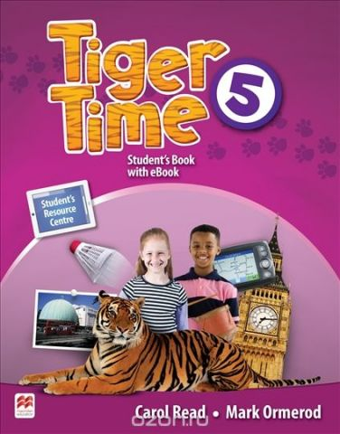 Tiger Time Level 5 Student Book + eBook Pack