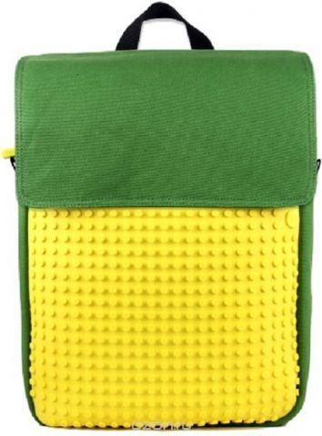 Upixel Пиксельный рюкзак цвет зеленый желтый