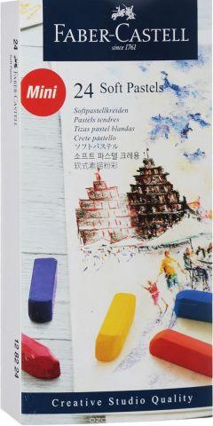 Faber-Castell Мягкие мини-мелки Studio Quality Soft Pastels 24 шт