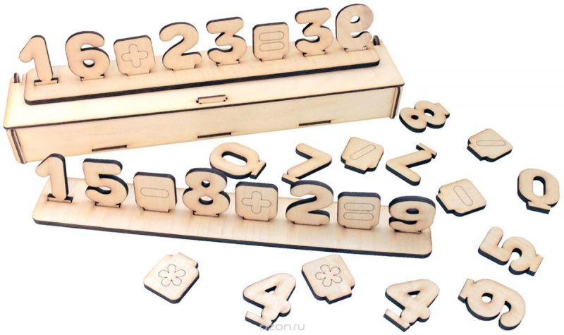 Фабрика Мастер игрушек Развивающая игра Цифры на подставке