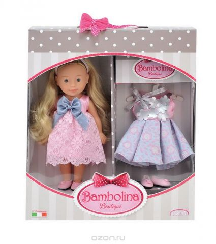 Dimian Кукла Bambolina Boutique Маленькая модница