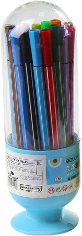 Набор фломастеров Вазочка цвет упаковки голубой 36 цветов 2870482