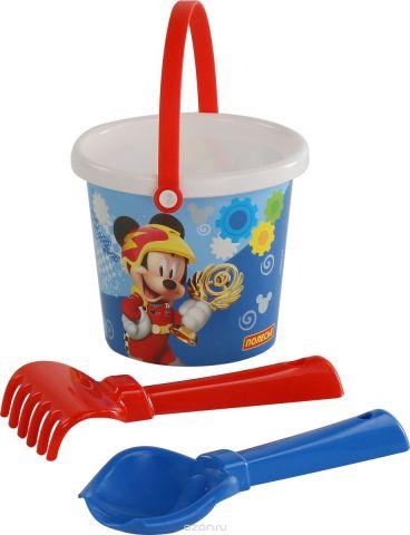 Disney Набор игрушек для песочницы Микки и Веселые гонки №1