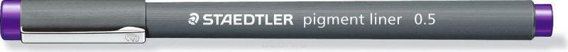 Staedtler Ручка капиллярная Pigment Liner 308 0,5 мм цвет чернил фиолетовый