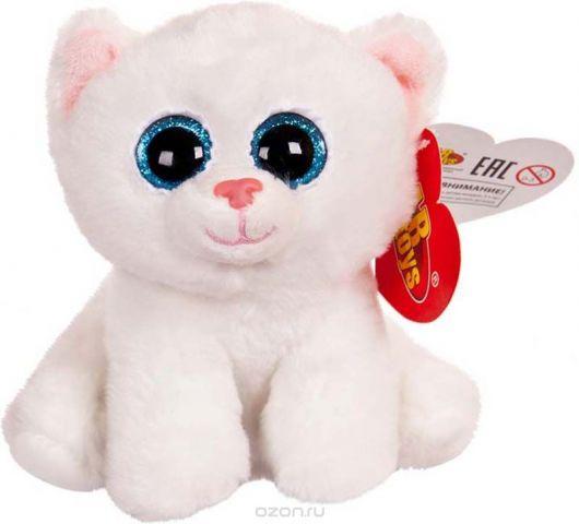 ABtoys Мягкая игрушка Котенок 15 см