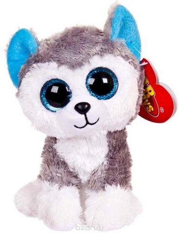 ABtoys Мягкая игрушка Собачка хаски 15 см 109300