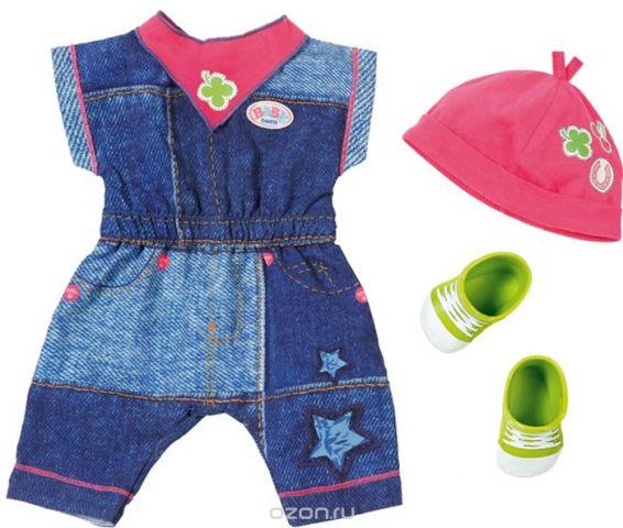 Zapf Creation Одежда для куклы BABY born Джинсовая коллекция