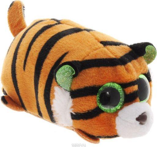 ABtoys Мягкая игрушка Тигренок цвет коричневый 10 см
