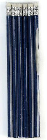 Calligrata Карандаш чернографитный с ластиком твердость HB цвет корпуса синий
